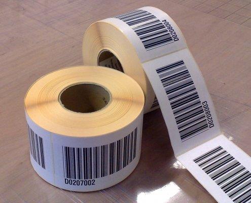 Bedrukte etiketten